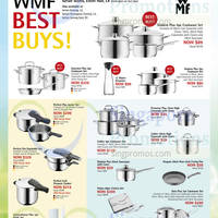 Read more about WMF Kitchenware & Cookware Offers @ Isetan 17 - 30 Apr 2015