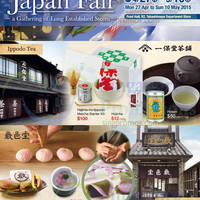 Takashimaya Japan Food Fair @ Takashimaya D.S. 27 Apr - 10 May 2015