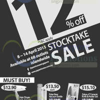 Read more about Japan Home 12% OFF Storewide Stock Take Sale 8 - 14 Apr 2015