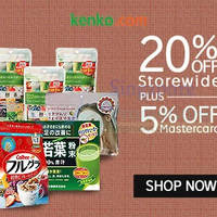Read more about Kenko.com 25% OFF SK-II, Kanebo, Kose & More (NO Min Spend) 1-Day Coupon Code 28 Apr 2015