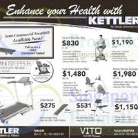 Read more about Kettler Fitness Equipment Offers 10 Apr 2015