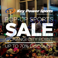 Read more about Key Power Sports Up to 70% Off Sale @ Changi City Point 25 Apr 2015