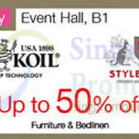 Read more about King Koil & Stylemaster Promotion @ Isetan Westgate 10 Apr - 3 May 2015