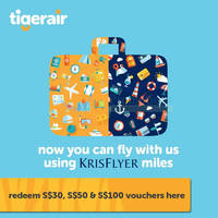 Read more about KrisFlyer Launches Redemptions On Scoot & Tigerair 8 Apr 2015