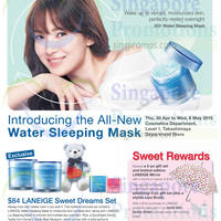 Read more about Laneige Sweet Rewards @ Takashimaya D.S. 30 Apr - 6 May 2015
