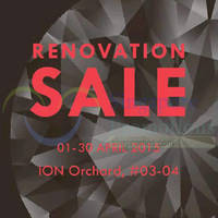 Larry Jewelry Renovation Sale @ ION Orchard 1 - 30 Apr 2015