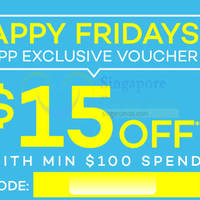 Read more about Lazada $15 OFF $100 Spend Storewide Coupon Code 10 Apr 2015