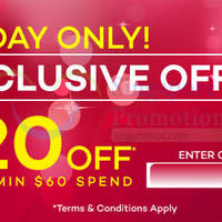 Read more about Lazada $20 OFF Storewide Coupon Code 2 Apr 2015