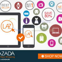 Lazada 10% Off Storewide With Citibank Cards (NO Min Spend) 4 - 5 Jul 2015