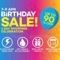Read more about Lazada $20 OFF ($80 Min Spend) Storewide Coupon Code 7 - 11 Apr 2015