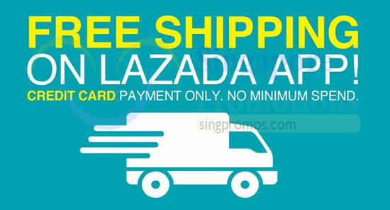 Lazada FREE Shipping 11 Apr 2015