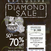 Read more about Lee Hwa Jewellery Diamond Sale @ Mandarin Orchard 30 Apr - 4 May 2015