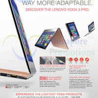 Read more about Lenovo Notebooks Yoga Roadshow @ Chevron House 20 - 22 Apr 2015