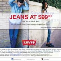 Read more about Levis $99.90 Jeans Offer 7 Apr 2015