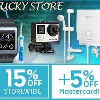 Read more about Lucky Store 20% OFF (NO Min Spend) 1-Day Coupon Code 7 Apr 2015
