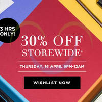 Read more about Luxola 30% OFF Storewide (NO Min Spend) 9pm to 12am 3hr Coupon Code 16 Apr 2015