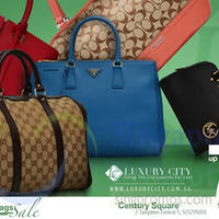 Read more about Luxury City Branded Handbags Sale @ Century Square 17 - 23 Apr 2015