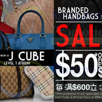 Luxury City Branded Handbags Sale @ JCube 29 Apr - 3 May 2015