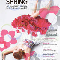 Read more about Mandarin Gallery Ode to Spring Promotions 10 Apr - 10 May 2015