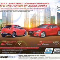 Read more about Mazda 2 Hatchback & Mazda 3 Hatchback Demo Units Offers 4 Apr 2015