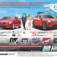 Read more about Mazda 6 & Mazda CX-5 Demo Units Offers 18 Apr 2015