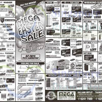Read more about Mega Discount Store TVs, Washers, Hobs & Other Appliances Offers 4 - 5 Apr 2015
