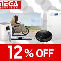 Read more about Mega Discount Store 12% OFF (NO Min Spend) Coupon Code 8 - 13 Apr 2015