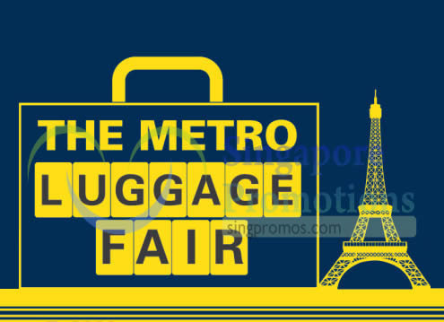 Metro Luggage Fair 23 Apr 2015