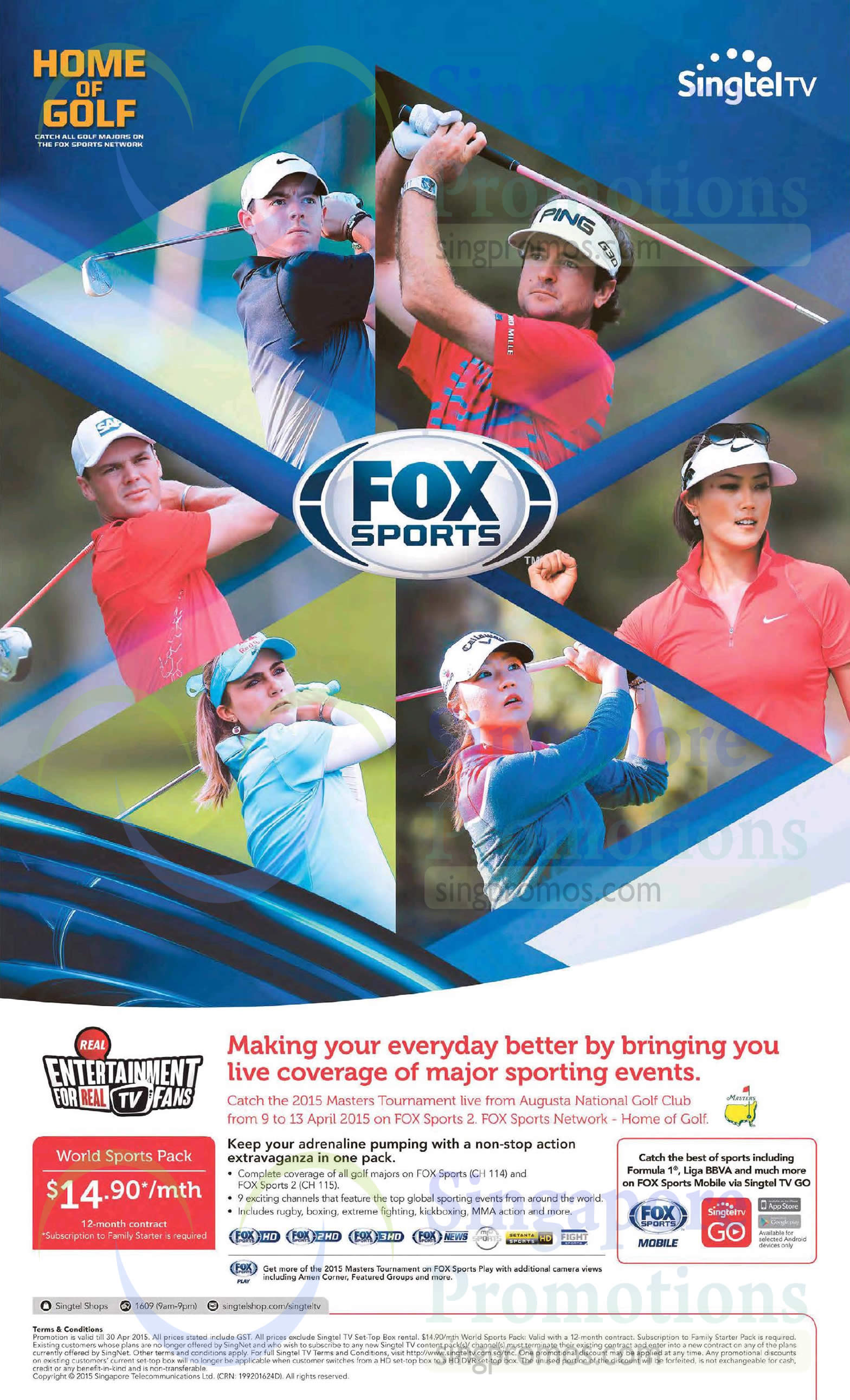 Mio TV 14.90 World Sports Pack