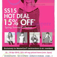 Read more about F3 Brands 15% Off Spring/Summer 2015 Collection 10 - 19 Apr 2015