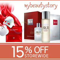 Read more about My Beauty Story 15% OFF SK-II, Clarins & More (NO Min Spend) Coupon Code 18 Apr 2015