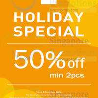 Read more about NET 50% OFF Holiday Special Promotion 1 - 5 Apr 2015