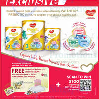Dumex Mamil Gold Buy $300 Worth & Get Free LG Printer @ Fairprice 24 Apr - 20 May 2015