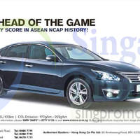 Nissan Teana Offer 18 Apr 2015