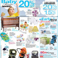 Read more about OG Up To 20% OFF Baby Fair Promo 16 - 29 Apr 2015