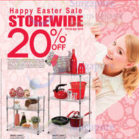 OG 20% OFF Storewide Promo 2 - 5 Apr 2015