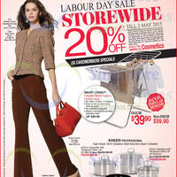 Read more about OG 20% OFF Storewide Promo 30 Apr - 3 May 2015