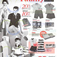 Read more about Hush Puppies Apparel 20% Off Family Fair @ OG 30 Apr - 13 May 2015