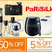 Read more about Parisilk 15% OFF (NO Min Spend) 1-Day Coupon Code 21 Apr 2015