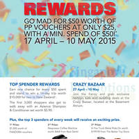 Read more about Parkway Parade Promotions & Activities 17 Apr - 10 May 2015