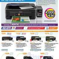 Epson Printers & Scanners Offers 1 Apr - 31 May 2015