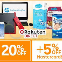 Read more about Rakuten Direct 25% OFF 1-Day Shopwide Coupon Code 12 May 2015
