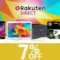 Read more about Rakuten Direct 7% OFF Shopwide Coupon Code 8 - 13 Apr 2015