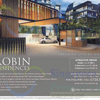 Read more about Robin Residences Freehold Luxury Homes 18 Apr 2015