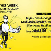 Read more about Scoot From $19 2hr Promo Air Fares (7am - 9am) 14 Apr 2015