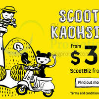 Read more about Scoot Kaohsiung & Taipei Promo Fares 16 - 18 Apr 2015
