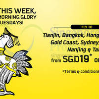 Scoot From $19 2hr Promo Air Fares (7am - 9am) 28 Apr 2015