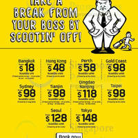 Read more about Scoot fr $18 Promo Fares 30 Apr - 3 May 2015