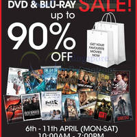 Read more about Scorpio East Entertainment Blu-Ray & DVD Warehouse Sale 6 - 11 Apr 2015