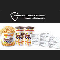 Shaw Theatres $26 Discounted Movie Package For Citibank Cardmembers 18 Apr - 31 Dec 2015